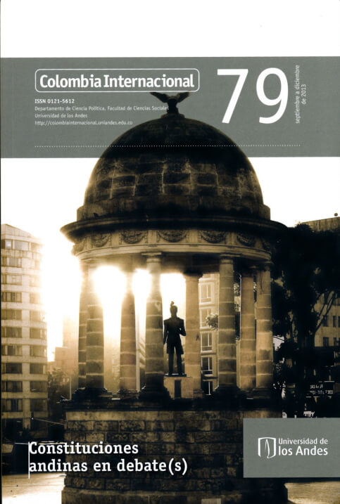 Revista Colombia Internacional 79 de la Universidad de los Andes