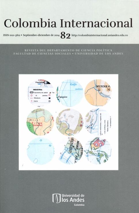Revista Colombia Internacional 82 de la Universidad de los Andes