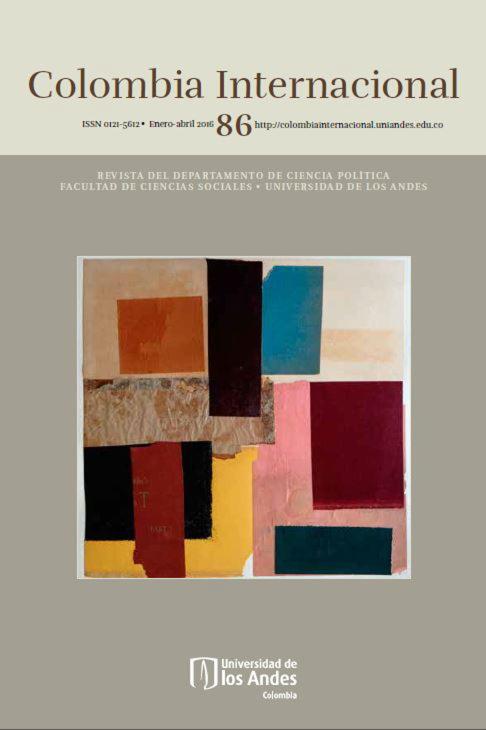 Revista Colombia Internacional 86 de la Universidad de los Andes