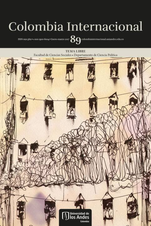 Revista Colombia Internacional 89 de la Universidad de los Andes