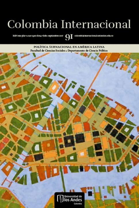Revista Colombia Internacional 91 de la Universidad de los Andes