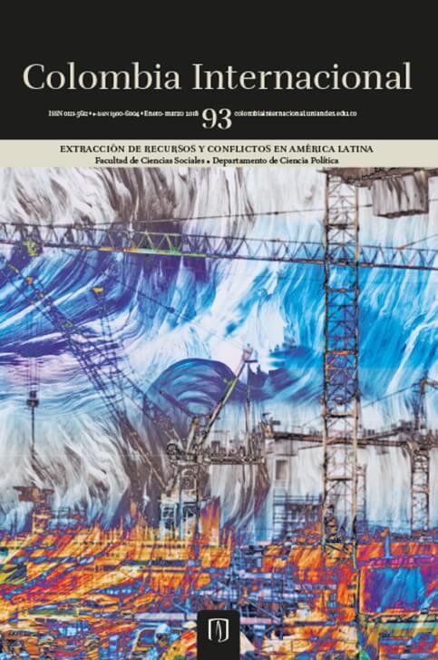 Revista Colombia Internacional 93 de la Universidad de los Andes