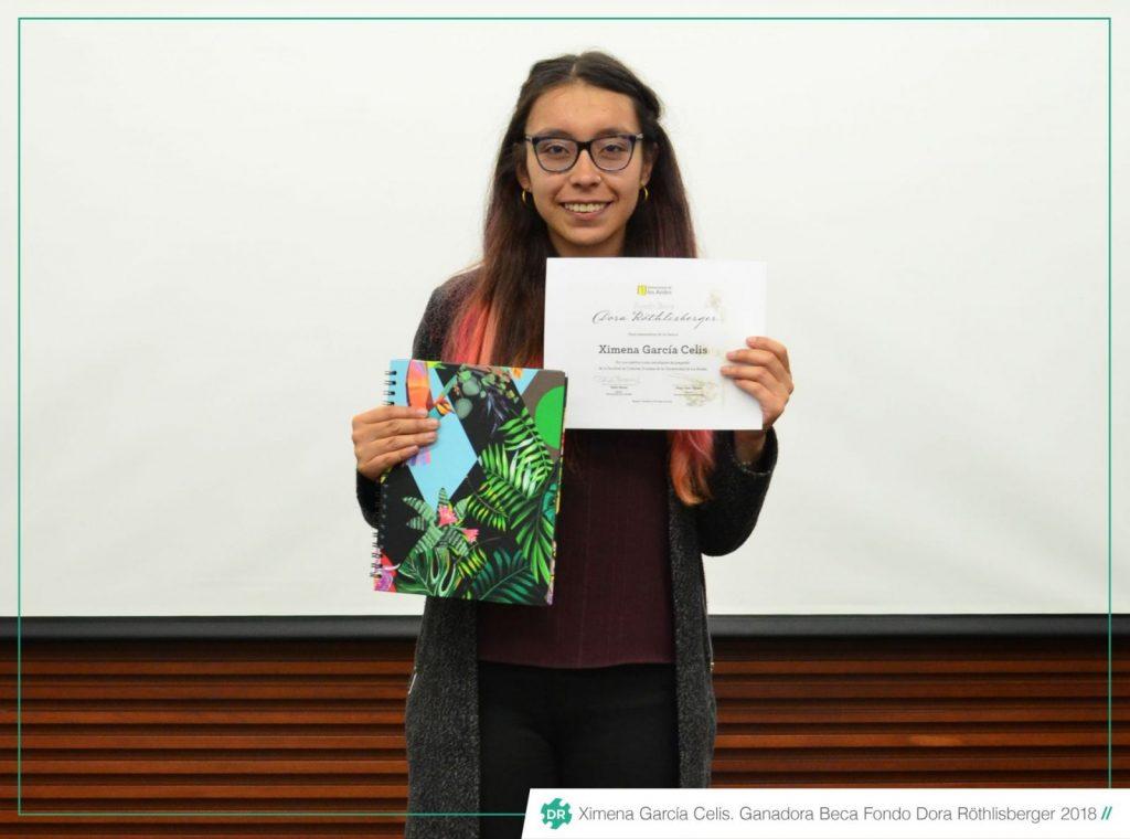 Ganadora de la Beca Fondo Dora Röthlisberger