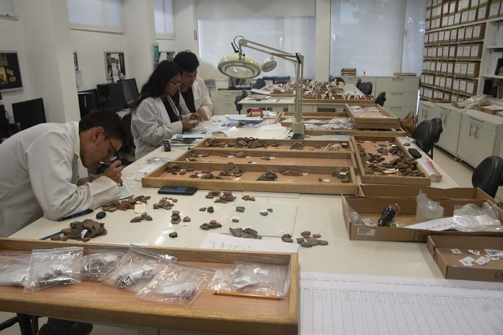 Laboratorio de Arqueología de la Universidad de los Andes