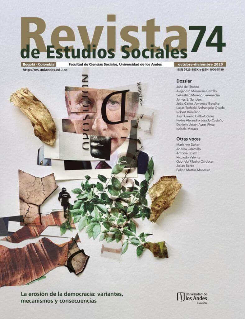 Revista de Estudios Sociales 74 de la Universidad de los Andes