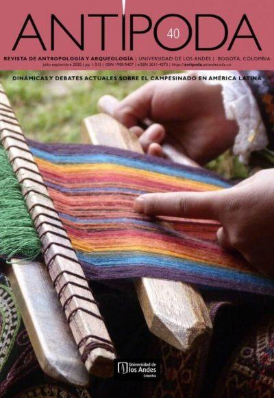 Revista Antípoda 40 de la Universidad de los Andes