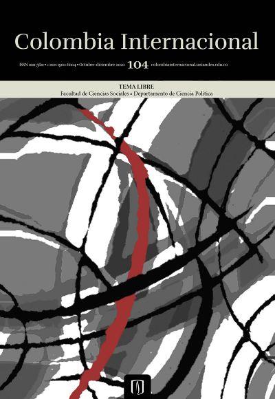 Revista Colombia Internacional 104 de la Universidad de los Andes