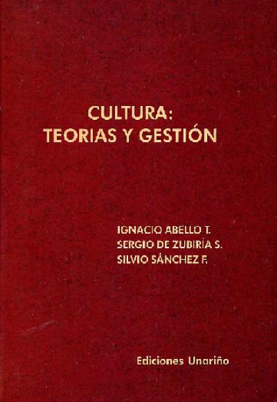 Cultura: teorias y gestión