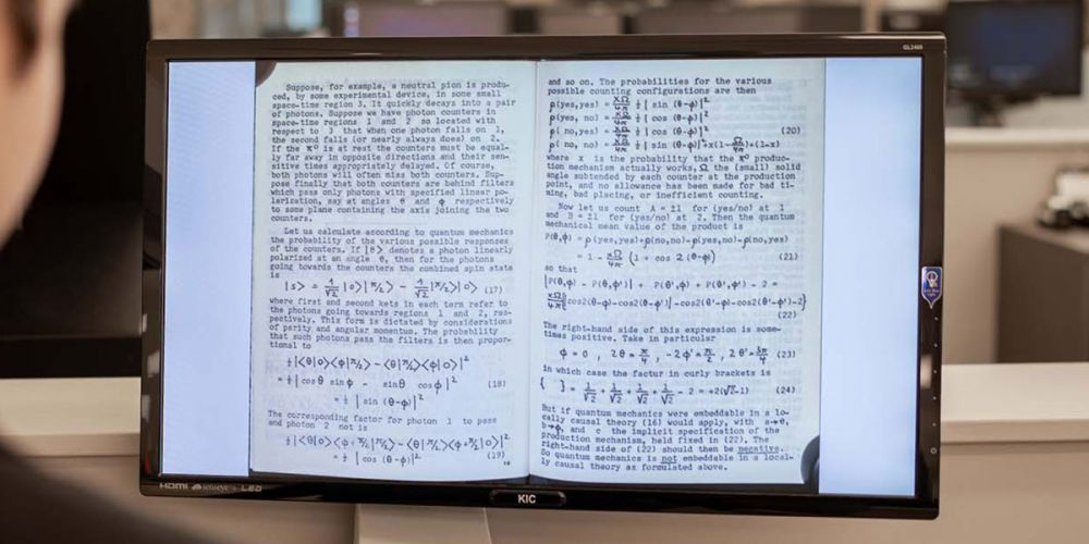 Noticia Epistemological Letters Scanned By Ramirez