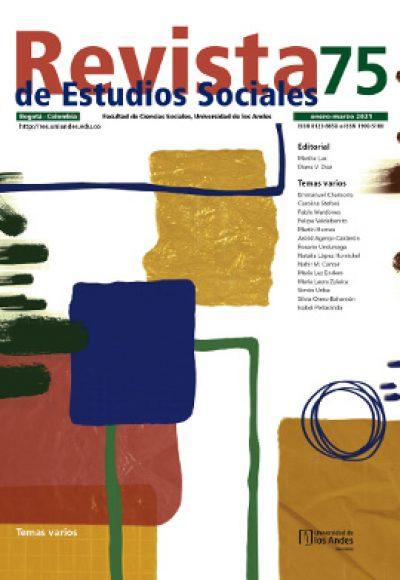 Revista de Estudios Sociales 75 de la Universidad de los Andes